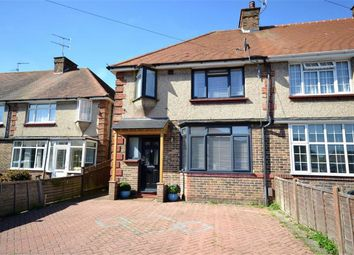 Thumbnail 3 bed end terrace house for sale in Marlowe Road, Broadwater, Worthing, West Sussex