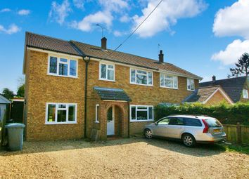 Thumbnail 3 bedroom semi-detached house for sale in Mill Road, Frettenham, Norwich