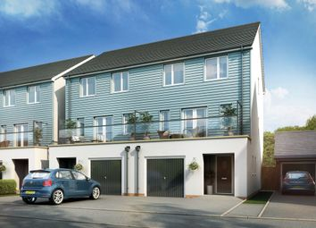 Thumbnail 4 bed town house for sale in Bessemer Drive, Newport