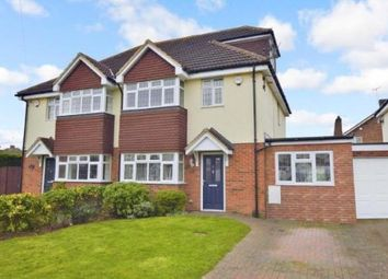 Thumbnail 4 bed semi-detached house for sale in Swifts Green Terrace, Swifts Green Road, Luton, Bedfordshire