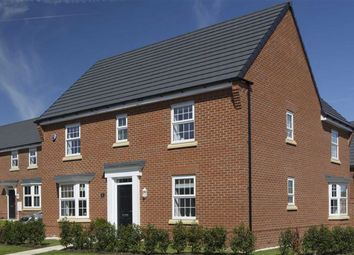 Thumbnail 4 bed detached house for sale in Meadow View, Maw Green Road, Crewe