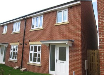 Thumbnail 3 bed semi-detached house to rent in Queens Park Road, Durham Gate, Spennymoor