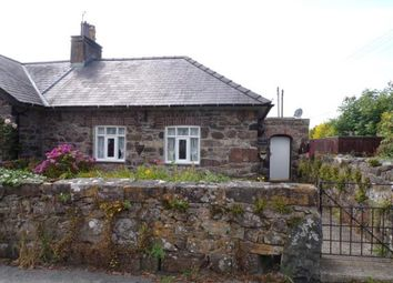Thumbnail 1 bed end terrace house for sale in School Cottages, Llandwrog, Caernarfon