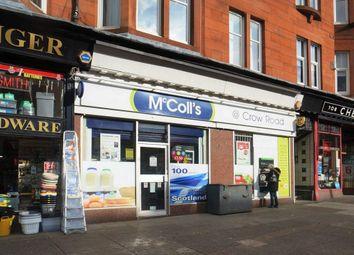 Thumbnail Retail premises to let in Crow Road, Glasgow