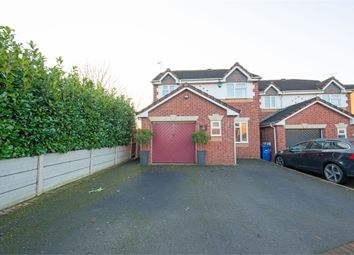 Thumbnail 3 bed detached house for sale in Shipley Close, Branston, Burton-On-Trent, Staffordshire