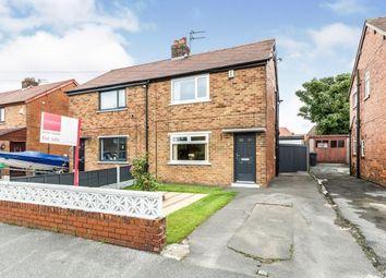 Thumbnail 2 bed semi-detached house for sale in Marlborough Drive, Walton-Le-Dale, Preston, Lancashire
