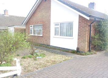 Thumbnail 2 bed bungalow to rent in Downing Drive, Evington