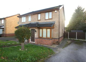 Thumbnail 2 bed semi-detached house to rent in Gleadmoss Lane, Oakwood, Derby