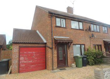 Thumbnail 3 bed semi-detached house to rent in John Davis Way, Watlington