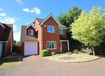 Thumbnail 3 bedroom detached house for sale in Abbottsleigh Gardens, Caversham, Reading