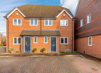 Thumbnail 3 bed semi-detached house for sale in Danesfield Gardens, Wargrave Road, Twyford, Reading