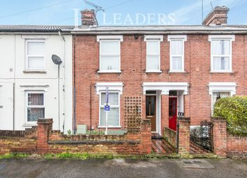 Thumbnail 3 bed terraced house to rent in Melville Road, Ipswich