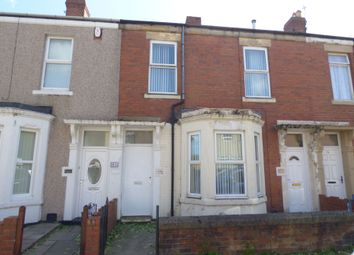 Thumbnail 2 bed terraced house to rent in Claremont Terrace, Blyth