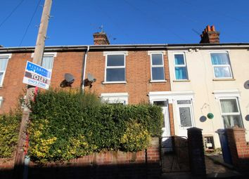 Thumbnail 2 bed terraced house to rent in Melville Road, Ipswich