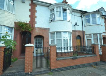 Thumbnail 3 bed terraced house for sale in Kimberley Road, Leicester