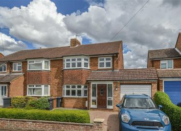 Thumbnail 3 bed semi-detached house for sale in Wicklands Road, Ware, Hertfordshire