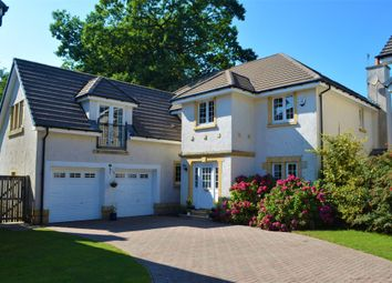 Thumbnail 5 bed detached house for sale in Fernie Gardens, Cardross, West Dunbartonshire