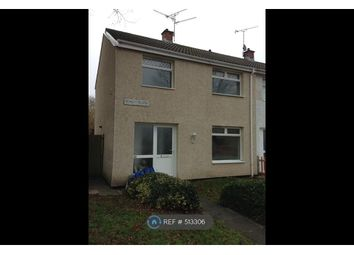 Thumbnail 3 bedroom end terrace house to rent in Waun Road, Cwmbran