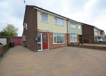 Thumbnail 3 bed semi-detached house for sale in Hillcrest Drive, Lowestoft