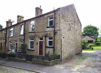 Thumbnail 1 bedroom terraced house to rent in Waterloo Terrace, Off Burnley Road, Sowerby Bridge