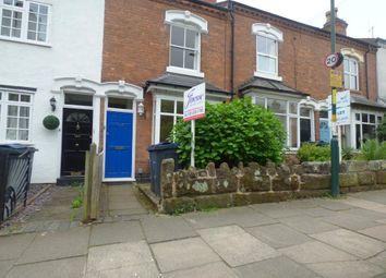 Thumbnail 2 bed terraced house to rent in Gordon Road, Harborne, Birmingham