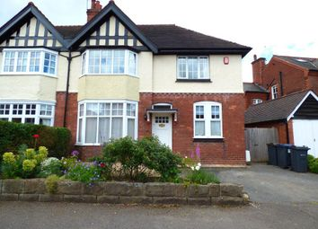 Thumbnail 4 bed semi-detached house to rent in Crosbie Road, Harborne, Birmingham