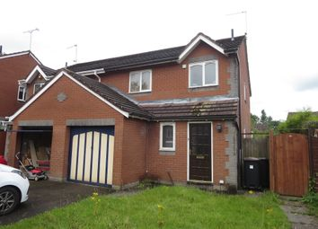Thumbnail 3 bed semi-detached house for sale in Beck Road, Madeley, Cheshire