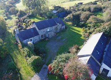 Thumbnail 4 bed equestrian property for sale in Bryn Castell, Wern Y Wylan, Llanddona, Anglesey