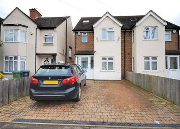 Thumbnail 4 bed semi-detached house to rent in Norton Road, Wembley, Middlesex