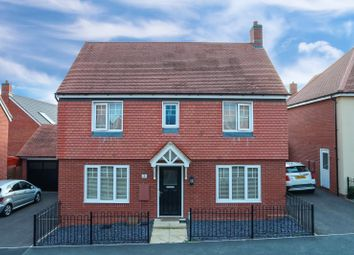 Thumbnail 3 bed detached house for sale in Maxwell Crescent, Northampton