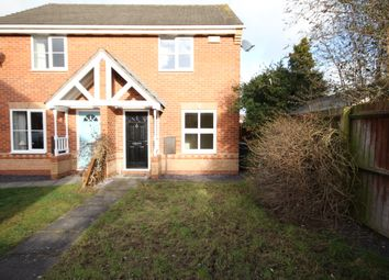 Thumbnail 2 bed semi-detached house to rent in Sherman Close, Hilton, Derby