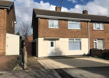 Thumbnail 3 bed semi-detached house for sale in Laxton Drive, Meden Vale, Mansfield