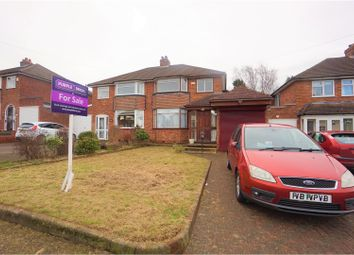 Thumbnail 3 bed semi-detached house for sale in Randle Drive, Sutton Coldfield