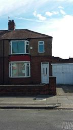 Thumbnail 3 bedroom semi-detached house to rent in Sandsend Road, Redcar