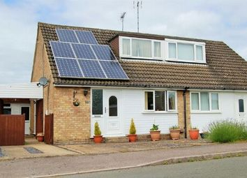 Thumbnail 2 bed semi-detached house for sale in Ennerdale Close, Daventry, Northants