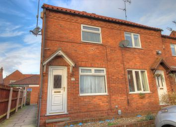 Thumbnail 2 bed terraced house for sale in St. Augustines Court, Hedon, Hull