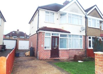 Thumbnail 4 bed semi-detached house to rent in Iverna Gardens, Feltham