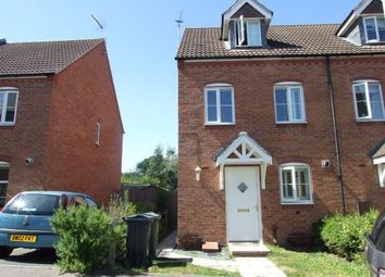 Thumbnail 3 bed semi-detached house for sale in Darwin Crescent, Loughborough, Leicestershire