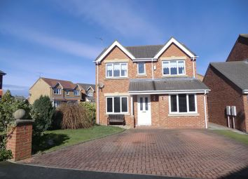 Thumbnail 4 bed detached house for sale in Dewberry Close, Blyth