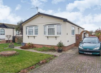 Thumbnail 2 bedroom mobile/park home for sale in Millfarm Drive, Pagham, Bognor Regis