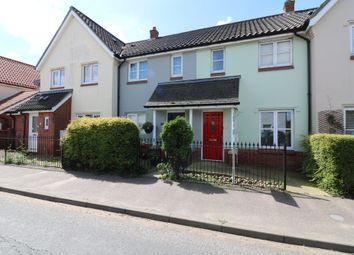 Thumbnail 2 bedroom terraced house for sale in Rectory Road, Dickleburgh, Diss