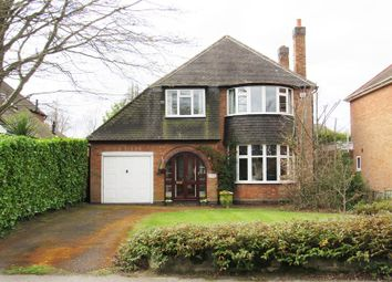 Thumbnail 3 bed detached house for sale in Bryanston Road, Solihull
