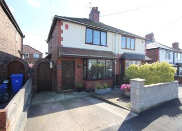Thumbnail 2 bed semi-detached house for sale in Leonard Avenue, Baddeley Green, Stoke-On-Trent