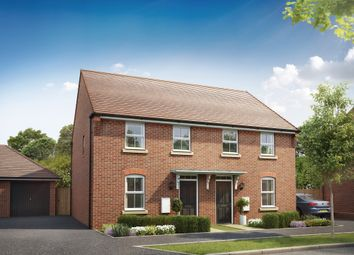 """Thumbnail 3 bedroom semi-detached house for sale in """"Hutchins"""" at Aspen Gardens, Hook"""