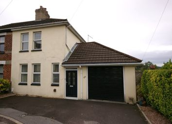 Thumbnail 2 bedroom semi-detached house to rent in James Road, Poole, Dorset
