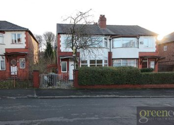 Thumbnail 3 bed semi-detached house to rent in Albert Avenue, Prestwich, Manchester