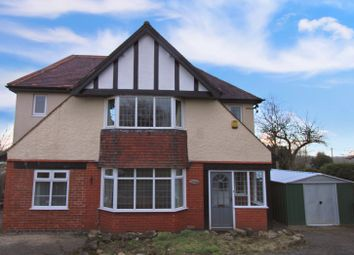 Thumbnail 4 bed detached house for sale in Main Road, Stretton, Alfreton