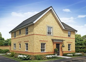 "Thumbnail 4 bedroom detached house for sale in ""Alderney"" at Lightfoot Lane, Fulwood, Preston"