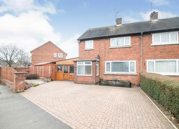 Thumbnail 3 bed semi-detached house for sale in Foxlydiate Crescent, Redditch, Worcestershire, .