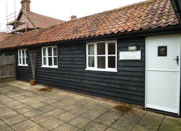 Thumbnail 2 bedroom semi-detached bungalow to rent in Laxfield Road, Stradbroke, Suffolk